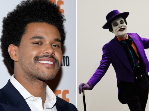 The Weeknd is the carbon copy of Jack Nicholson's Joker while we all impatiently wait for a new album