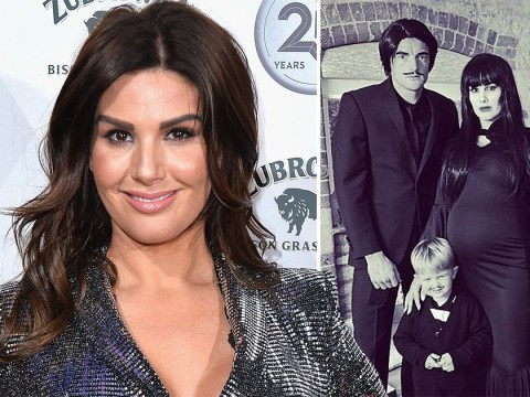 Rebekah Vardy channels Morticia Addams' unconcerned energy after calling trolls 'd***s' for asking about Coleen Rooney