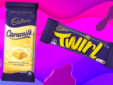 Cadbury is releasing a Caramilk Twirl in Australia and people are going wild