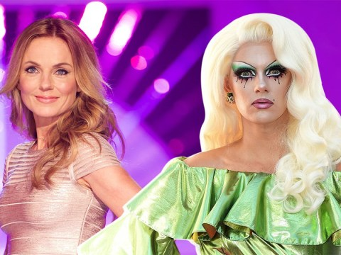 Drag Race UK's Crystal is as baffled as you by Geri Horner's 'Stepford Wife' appearance