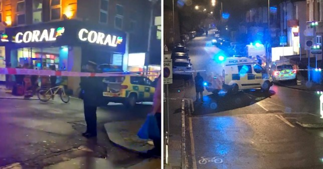 Scenes of stabbings in Barking and Beckenham in London