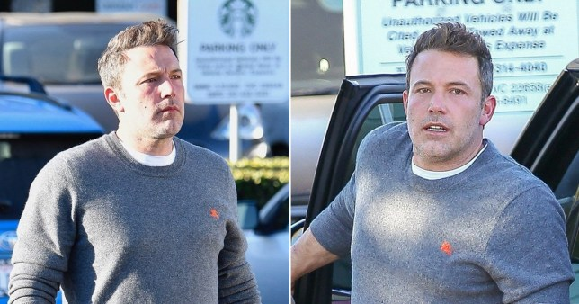 Ben Affleck looks healthy after relapse