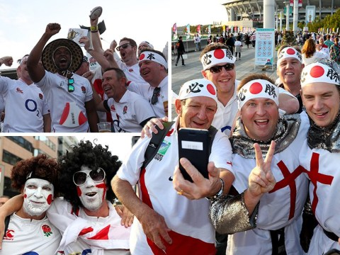 The Rugby World Cup final in pictures
