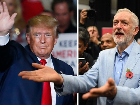 Jeremy Corbyn says UK General Election is 'none of Donald Trump's business'