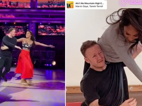 Strictly Come Dancing's Kevin Clifton and Alex Scott give sneak glimpse at tonight's dance following Neil Jones' exit