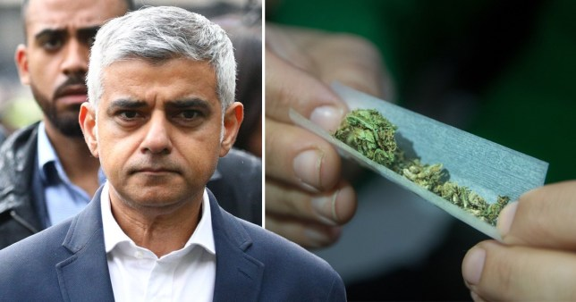Sadiq Khan proposes legalising cannabis to reduce violent crime