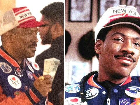 Eddie Murphy spotted filming Coming 2 America in new pictures and the 80s are officially back
