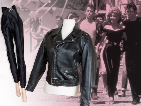 Olivia Newton-John's iconic 'bad Sandy' Grease outfit sells at auction for over £300,000