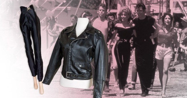 Ongebruikt Olivia Newton-John's 'bad Sandy' Grease outfit makes £314k at OA-72