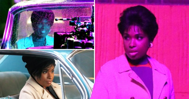 Jennifer Hudson emulates the Queen of Soul as she gets to work on Aretha Franklin biopic