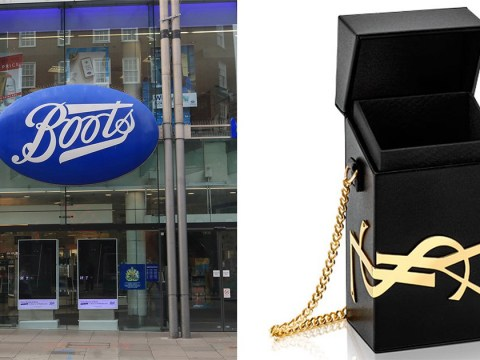 Boots is giving way free Yves Saint Laurent box bags when you spend £100