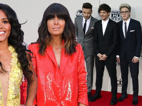 Alex Scott blushes as Claudia Winkleman lets slip One Direction star is secretly supporting her on Strictly