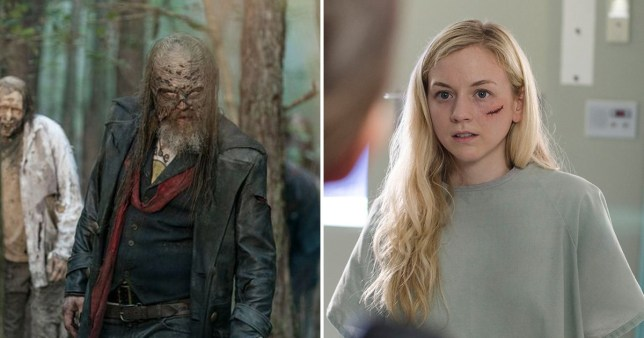 Beth and Beta in The Walking Dead
