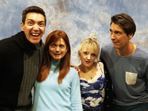 Harry Potter's Fred, George, Ginny and Luna reunite at Comic Con and our hearts can't handle it