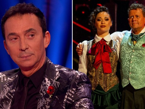 Strictly Come Dancing's Bruno Tonioli saved Mike Bushell 'as he covered for mistake made by partner Katya Jones' during dance off