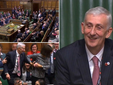 Sir Lindsay Hoyle elected as speaker of the House of Commons