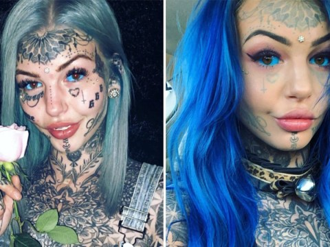 Eyeball tattoos leave woman blind for three weeks