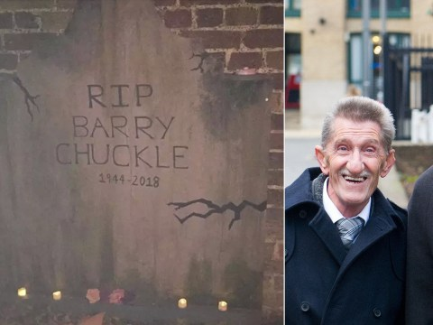 Paul Chuckle furious as brother Barry's grave mocked up for Halloween decoration at nightclub
