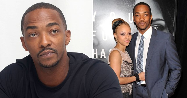 Anthony Mackie and his wife Sheletta Chapital