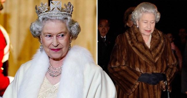 Queen bans fur