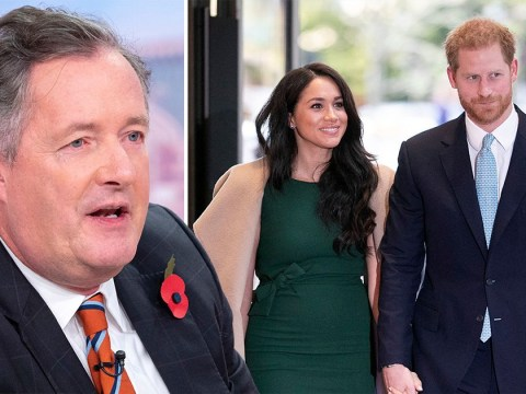 Piers Morgan accuses Prince Harry of ditching his family and country 'for his wife's movie career'