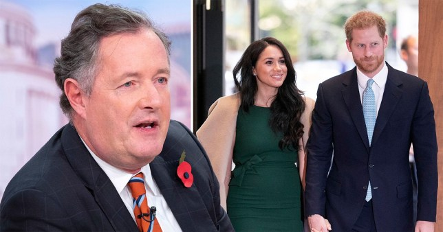Piers Morgan, Harry and Meghan