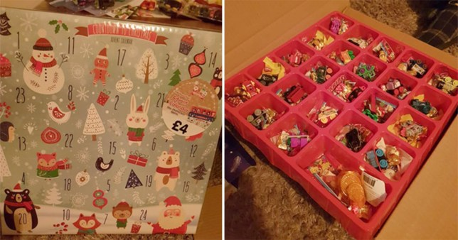 flipboard mum creates amazing diy advent calendar by. Black Bedroom Furniture Sets. Home Design Ideas