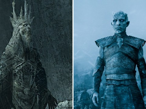 Game of Thrones concept art reveals chilling look at original design for The Night King