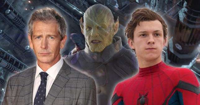 Spider-Man's Ben Mendelsohn and Tom Holland