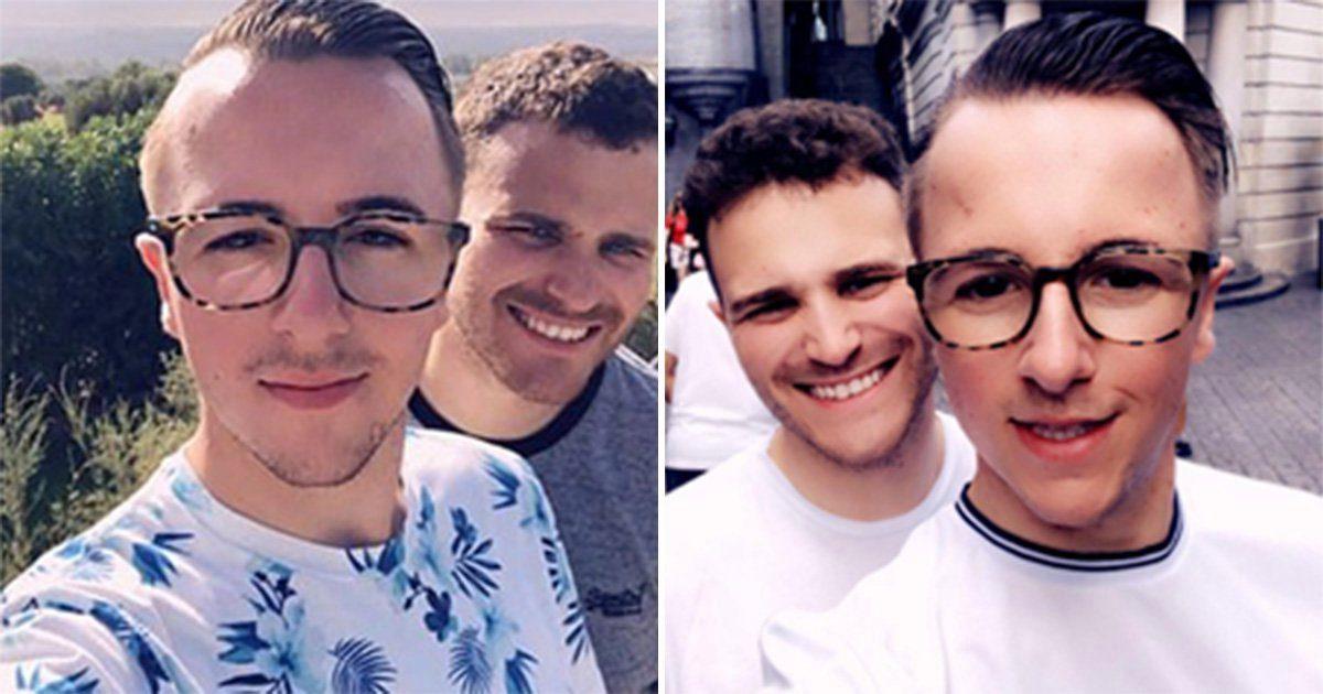 Gay sex selfie