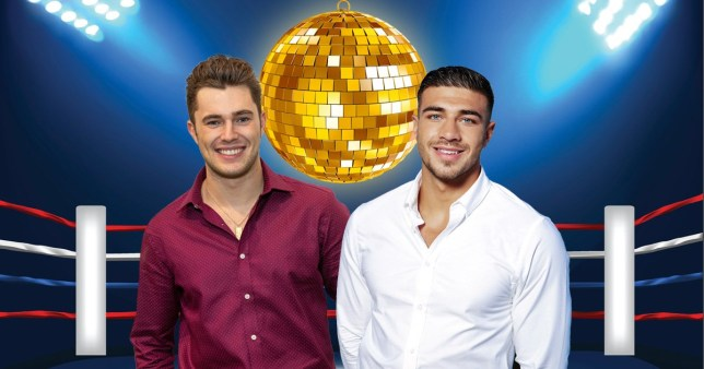 Love Island stars Tommy Fury and Curtis Pritchard