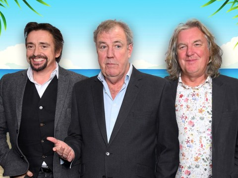 The Grand Tour's Jeremy Clarkson, Richard Hammond and James May  reunited with crew after being 'marooned' on tropical island
