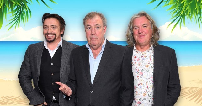 Jeremy Clarkson, Richard Hammond, and James May