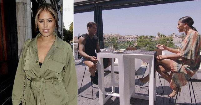 Malin Andersson claims Love Island confrontation was set up