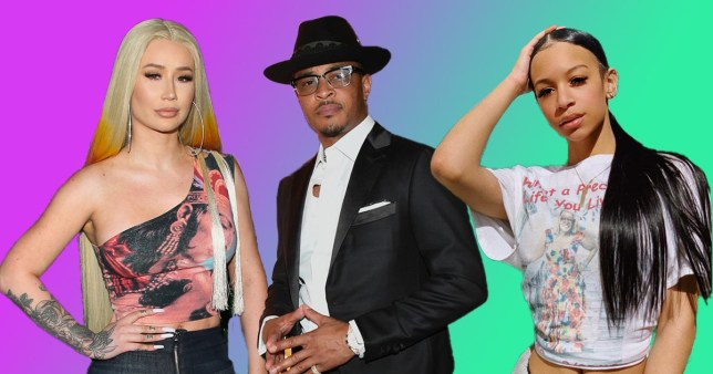 Iggy Azalea, T.I. and his daughter Deyjah