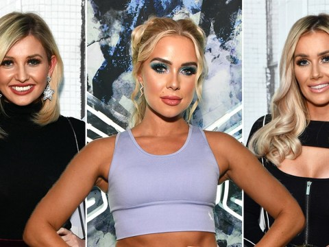 Love Island's Gabby Allen sparks reunion as Amy Hart and Laura Anderson support sportswear launch