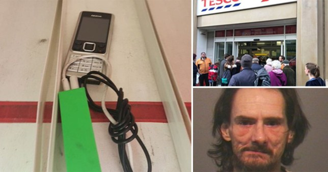 Tesco bomb scare sparked by shoplifter who left device on gin shelf to distract security staff