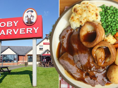 Toby Carvery now does delivery so you can have a roast brought to your door this winter