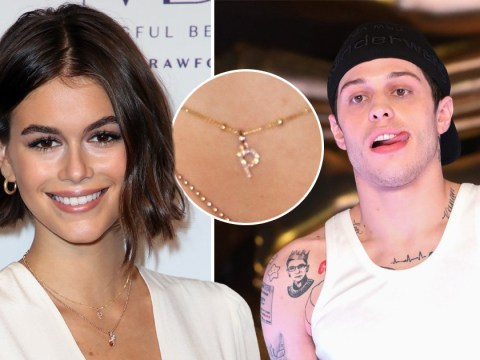 Cindy Crawford's daughter Kaia Gerber sports 'P' letter necklace amid Pete Davidson dating rumours