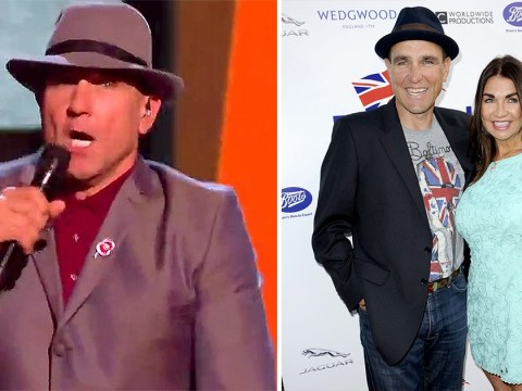 X Factor: Celebrity's Vinnie Jones reveals wife Tanya 'is there on stage with him' ahead of live show