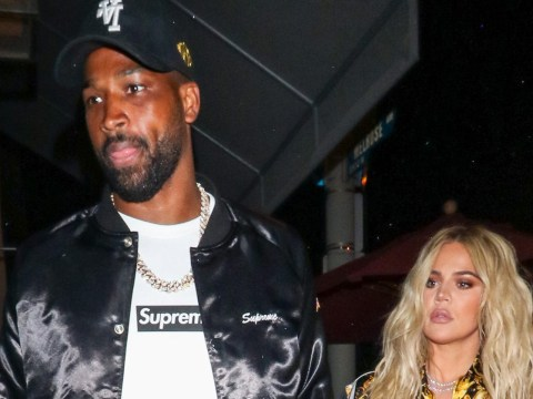 Khloe Kardashian presented with giant balloons by ex Tristan Thompson amid reunion rumours