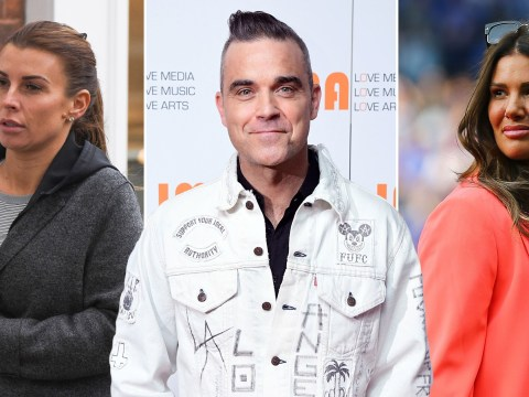 Robbie Williams weighs in on 'suicide-causing' Coleen Rooney and Rebekah Vardy drama