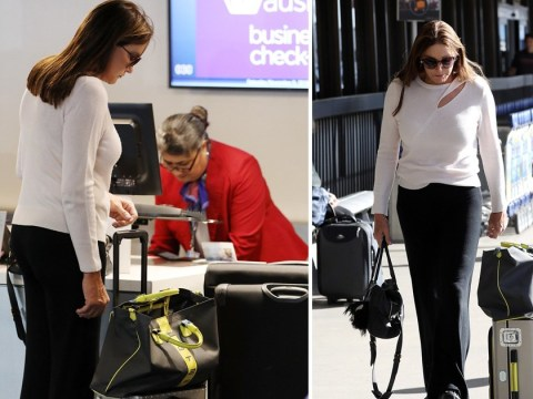 I'm A Celebrity's Caitlyn Jenner jets off to Australia in style after admitting she has 'no idea' how show works