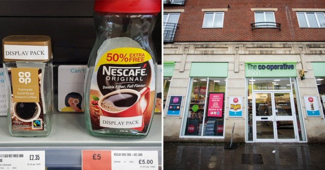 Co-op shop resorts to putting empty containers on shelves to combat shoplifting