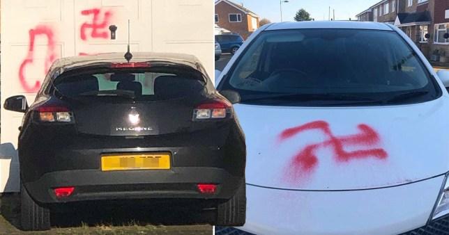 Essex 'nazi' vandal