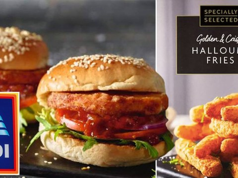 Aldi's halloumi fries are back – and they're launching halloumi burgers too
