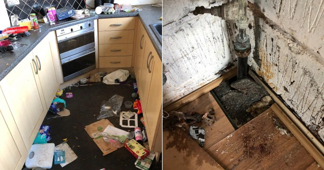 Landlord faces £30,000 bill after tenants left house in revolting mess