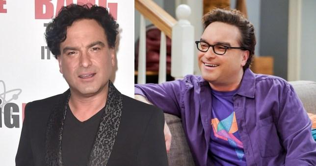 Johnny Galecki and Leonard in The Big Bang Theory