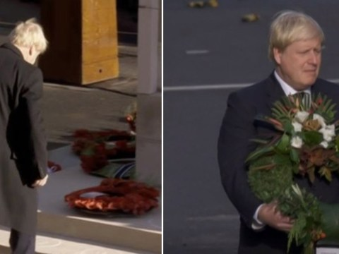 BBC shows three-year-old clip of Boris Johnson instead of wreath laying blunder
