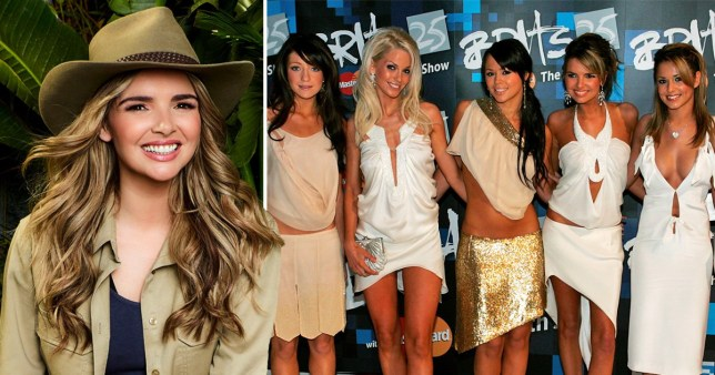 Nadine Coyle on I'm A Celeb and in Girls Aloud
